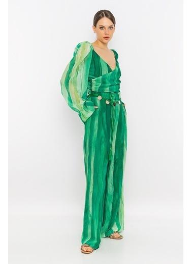 Berr-in Bluz Yeşil